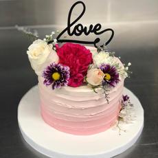 Ombre Floral Buttercream Cake