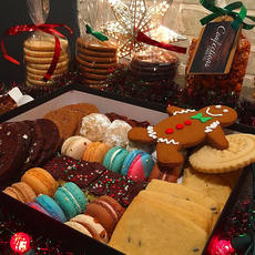 Large Christmas Cookie Box 41pc