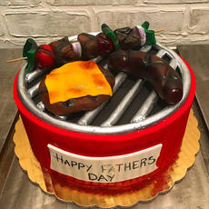 Father's Day BBQ Cake