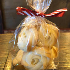 Piped Shortbread Cookies 10pc