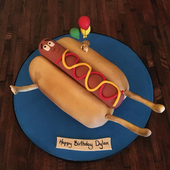 Hotdogs for Dylan!