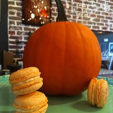 Pumpkin Spiced Macarons
