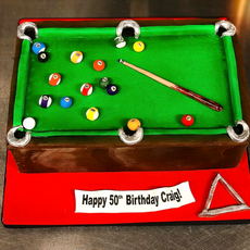 Pool Cake For Dad