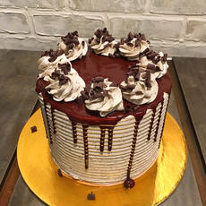 Cookies & Buttercream Cake
