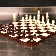 Callebaut Chocolate Chess Board