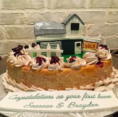 Custom Cheesecake Celebration