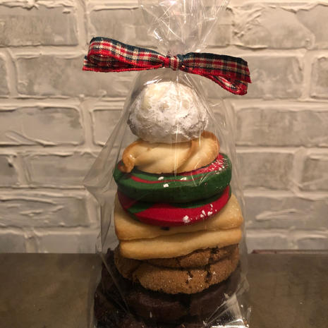 Assorted Christmas Cookie Bag 10pc