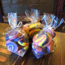 Pastel Sugar Cookies 9pc