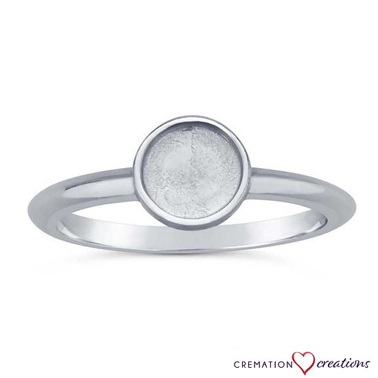 Sterling Silver Round Cabochon Ring Mountings