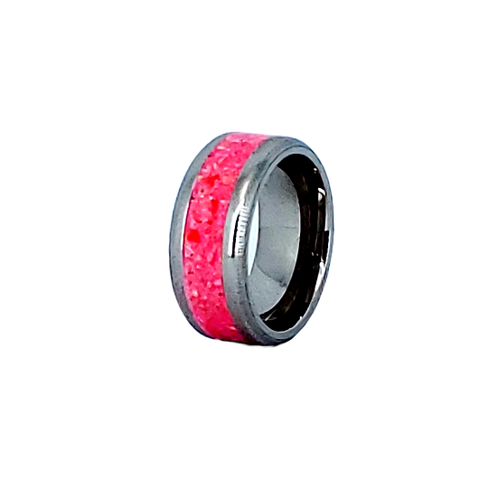 Cremation Jewelry - Ring - Mimosa Opal  OP 55