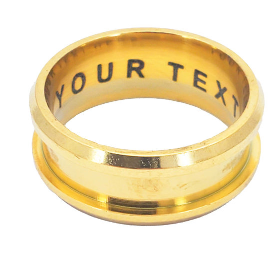 Custom  personalize Inside Ring Engraving Service