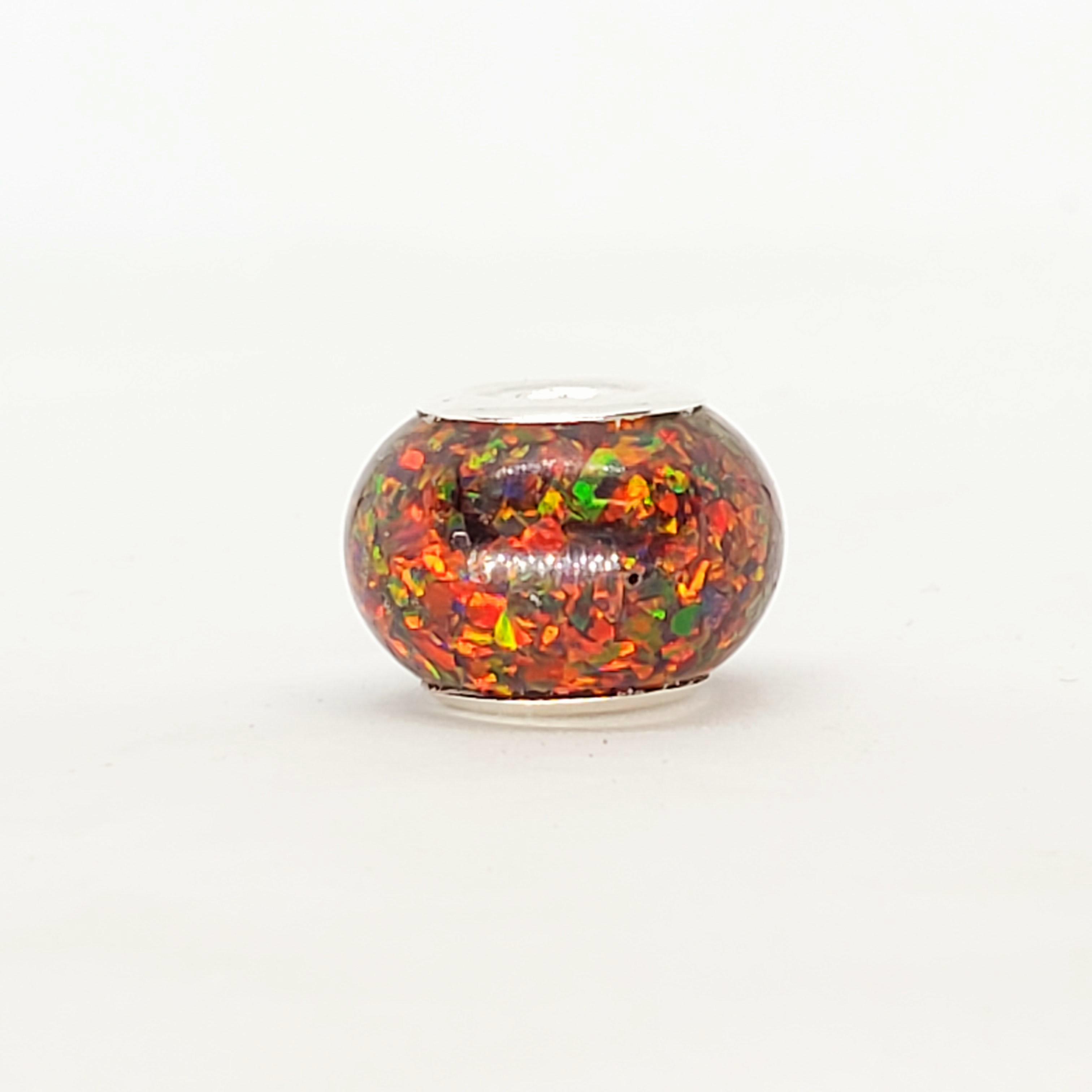 Pandora Bead Black opal 34  (20)