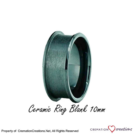 Ceramic Ring Core Blank 10mm