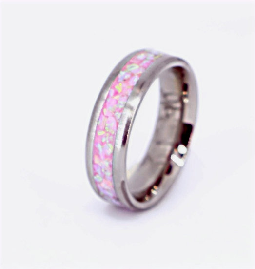 Cremation Ring-Bubble Gum-OP10