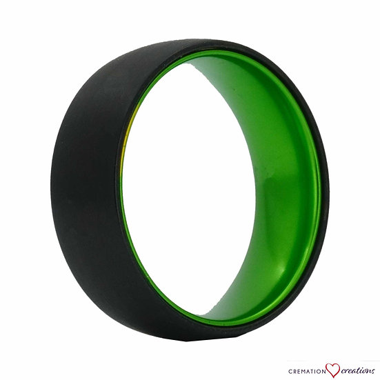 The Green Machine Tungsten Ring
