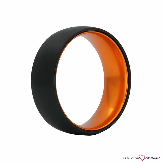 Agent Orange Wedding Anniversary Ring