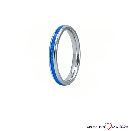 Thin and Dainty Cremation Ring - 3mm - Stainless