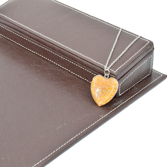 Cremation Pendant Heart