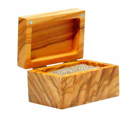 Olive Wood Ring Box