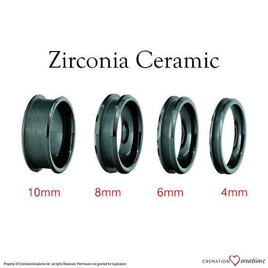 Ceramic Ring Core Blanks 4mm 6mm 8mm 10mm
