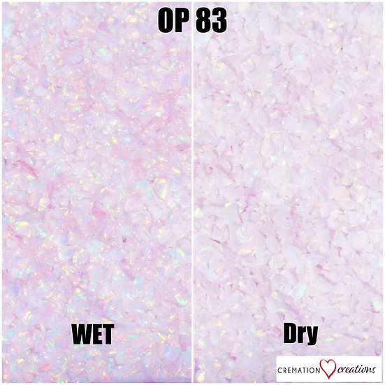 Crushed Opal Pink Snow OP83