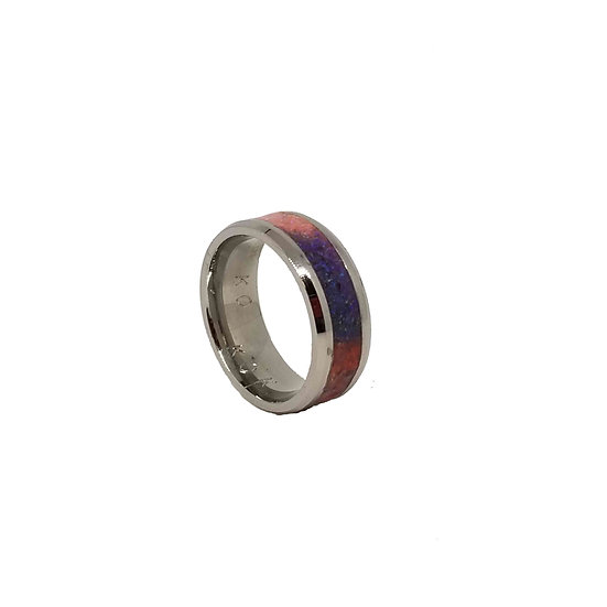 Cremation Jewelry - Ring -Segmented