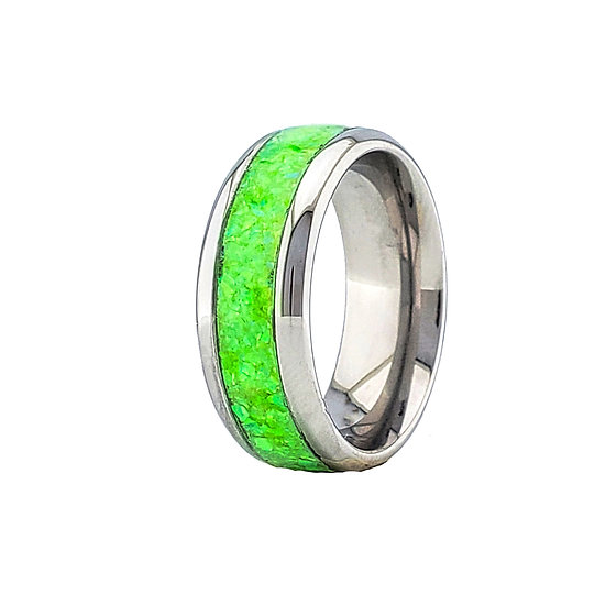 Cremation Jewelry - Ring - Spring Bud Opal  OP 68