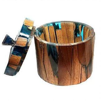 Handmade wood turned  Urn