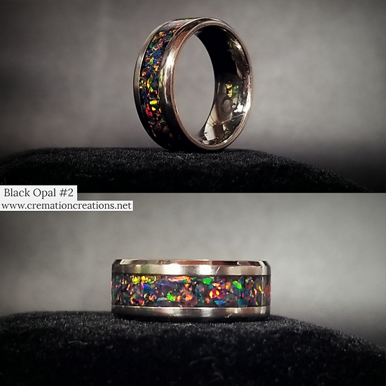 Cremation Ring Opal #2 OP32