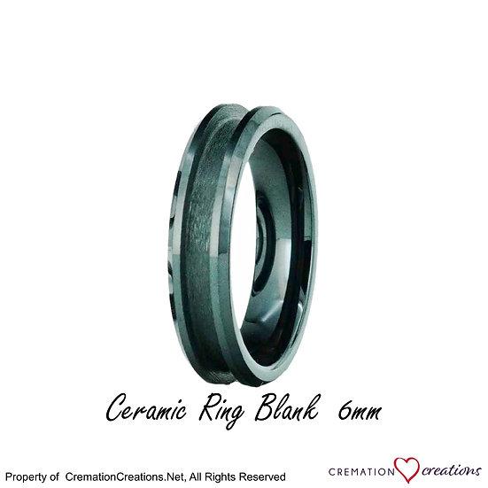 Ceramic Ring Core Blank 6mm