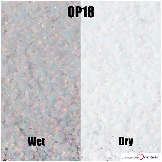 Crushed opal for inlay - Sun & Ice