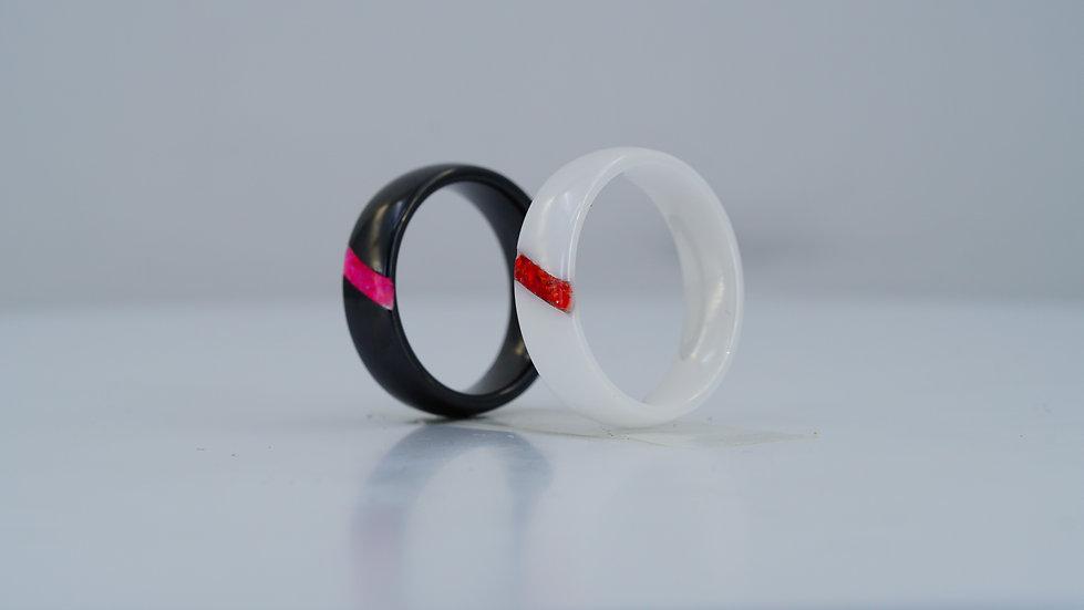 Sash Opal Cremation Ring