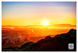 Sunset Over Oakland - 041913