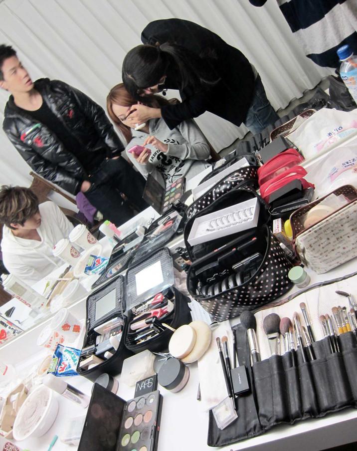 大嘴巴雜誌平面拍攝-By Minnie Makeup