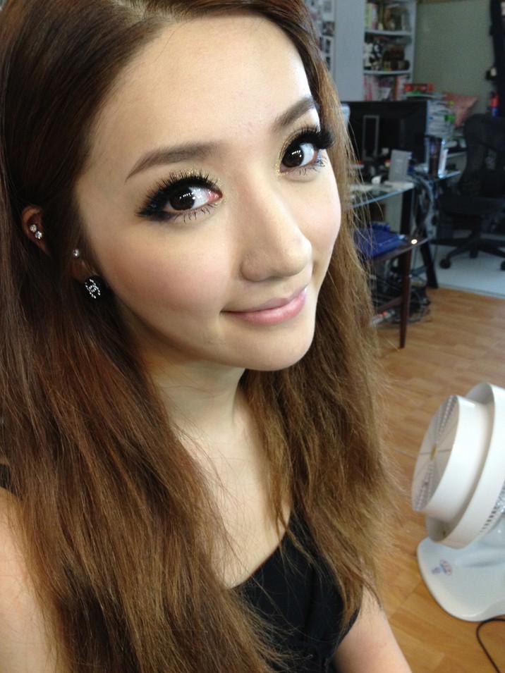 新娘造型外拍-By Minnie Makeup