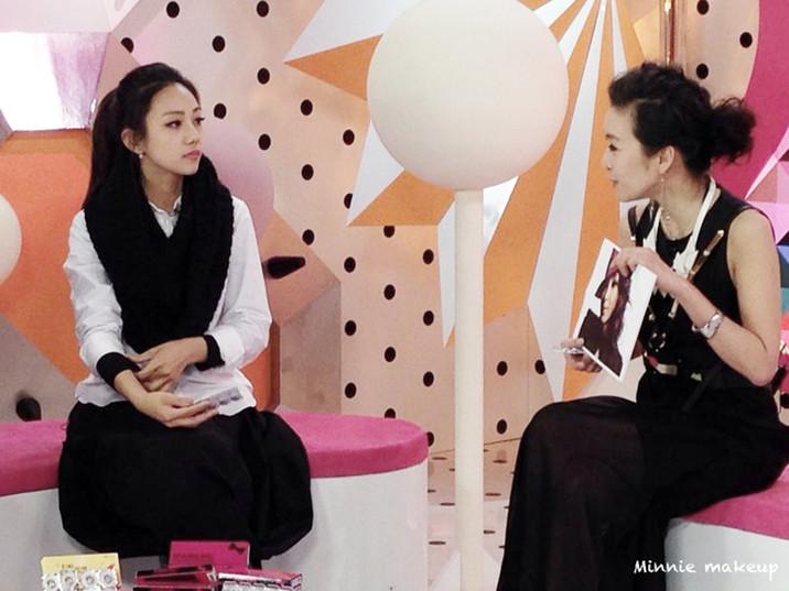 MTV台 路小米時尚朋友 節目錄影-By Minnie Makeup
