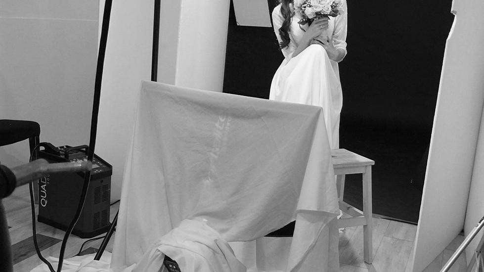 新娘物語雜誌平面拍攝-By Minnie Makeup