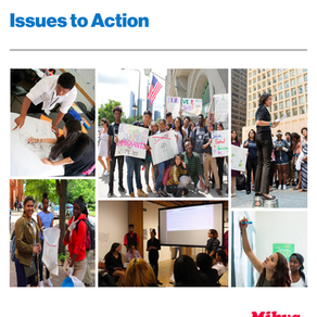 Mikva Challenge's Issues to Action