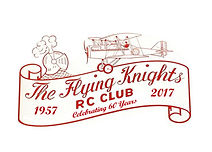 This is the Flying Knghts Club Logo