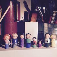 Family Peg Dolls