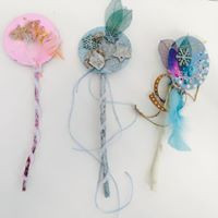 Natural inspired fairy wands