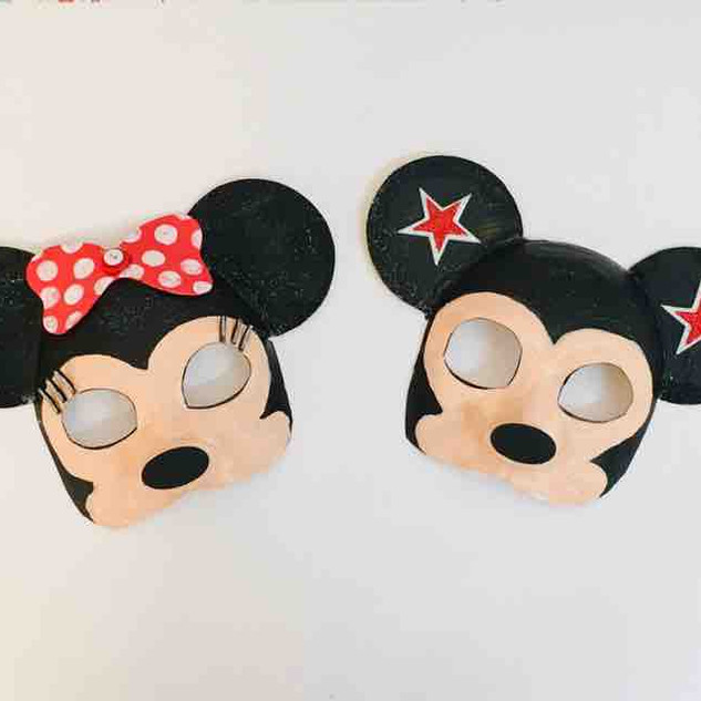 Mickey Mouse Masks