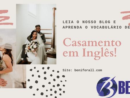 Casamento em Inglês!