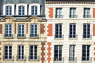 Typical Parisian architectural. The faca