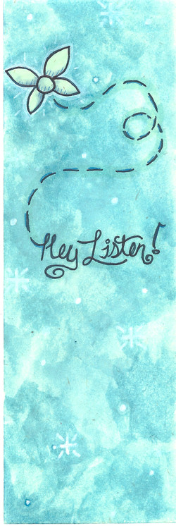 bookmark hey listen