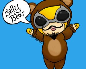 Silly Bear!