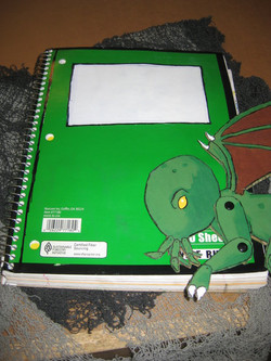 cthulhu and notebook