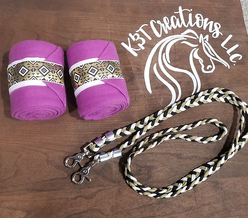 Purple Polos and Reins