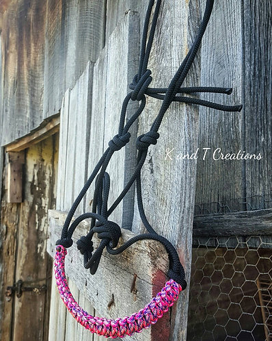 Custom Rope Halter