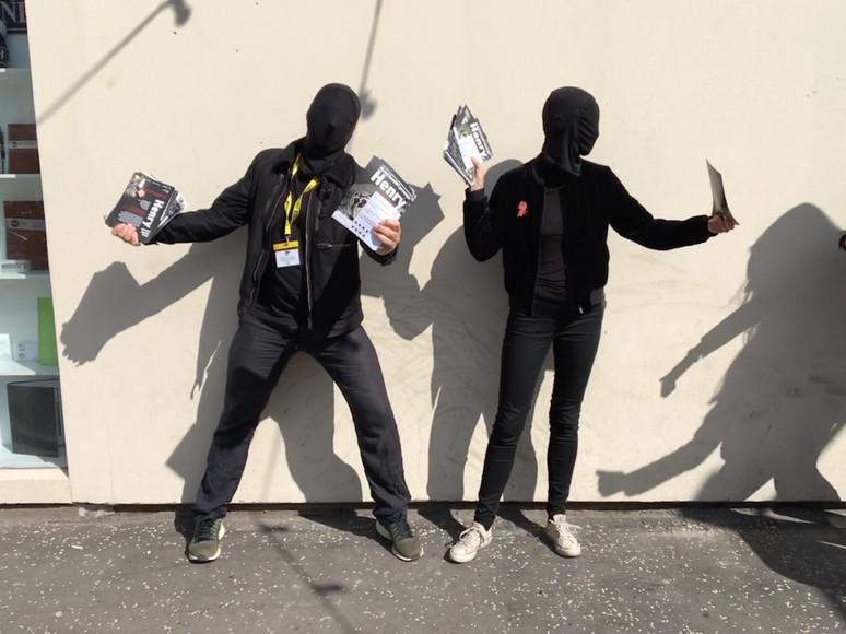 Puppet Riot...